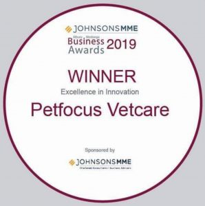 Excellence in Innovation 2019 Petfocus Vetcare