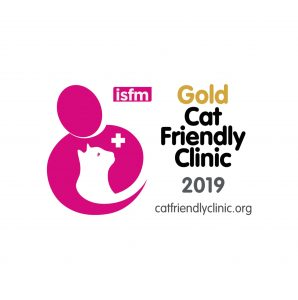 Gold Cat Friendly Clinic 2019