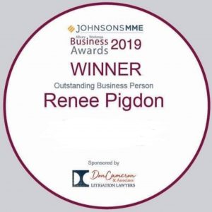 Outstanding Business Person 2019 Renee Pigdon@3x